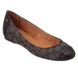 Coach Chelsea ballet flats. New in box.
